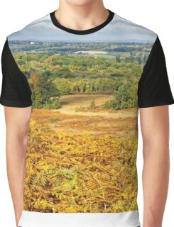 Ashdown Forest in Autumn Graphic T-Shirt