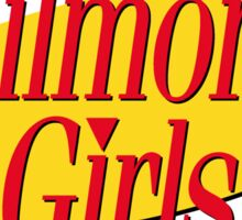 Gilmore Girls x Seinfeld Sticker
