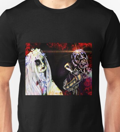 Ghostly Figures Unisex T-Shirt