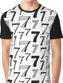 Number Seven  Graphic T-Shirt