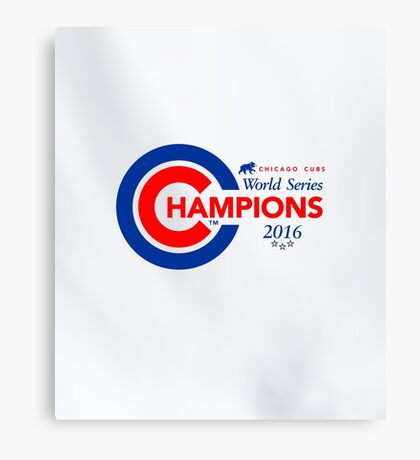 Chicago Cubs Champions Canvas Print