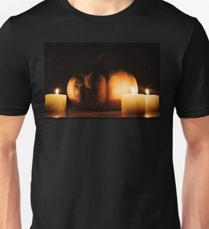 The dark side of the Pumpkin Unisex T-Shirt