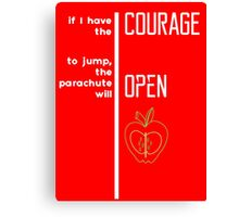 Bic Macintosh Wisdom - Quote Canvas Print