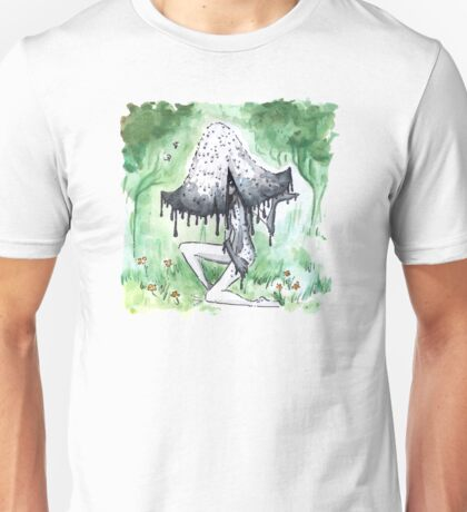 Empire of Mushrooms: Coprinopsis Atramentaria Unisex T-Shirt