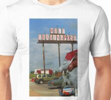 Route 66 - Mule Trading Post Unisex T-Shirt