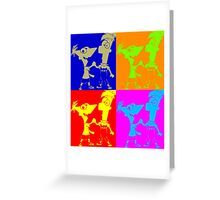 Phineas and Ferb Pop Art Greeting Card