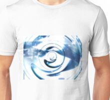 Abstract technology disk -  digitally generated image Unisex T-Shirt