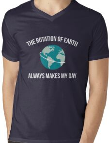 The Rotation of Earth Mens V-Neck T-Shirt
