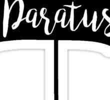 In Omnia Paratus Umbrella Sticker