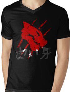 White Fang T-Shirt Mens V-Neck T-Shirt
