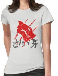 White Fang T-Shirt Womens Fitted T-Shirt