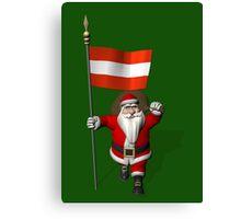 Santa Claus Visiting Of Austria Canvas Print