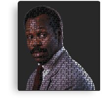 I'm too old for this shit Lethal Weapon Canvas Print