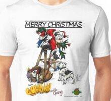 Merry Christmas From Cowman Unisex T-Shirt