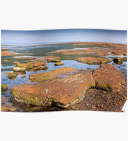 Low Tide - Rickett's Point Poster