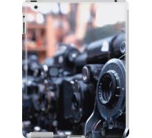 Retro Camera - Agifold square frame iPad Case/Skin