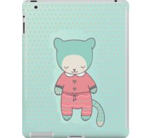 Cute cat clothing iPad Case/Skin