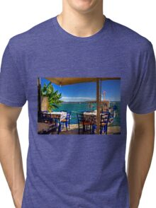 This way to your table Tri-blend T-Shirt