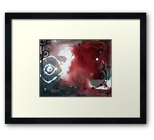 When Darkness Asked the Light to Dance Framed Print