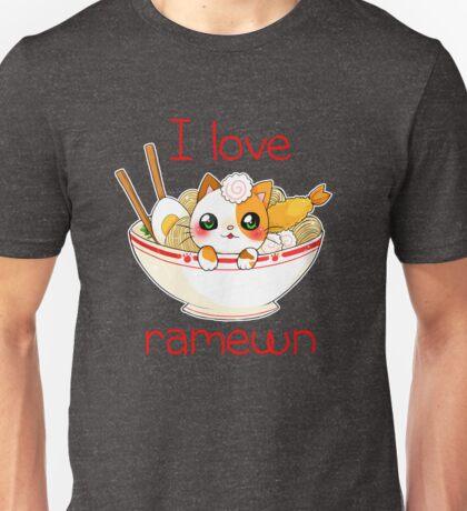 I love Ramewn Unisex T-Shirt