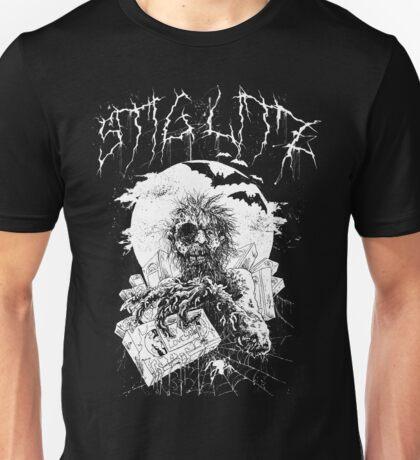 Say You Love Satan 80s Horror Podcast - Hugo Stiglitz VHS Zombie Unisex T-Shirt