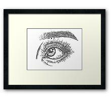 Eye #3 Framed Print
