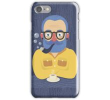 Blue Beard iPhone Case/Skin
