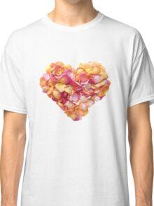 Heart of the rose petals Classic T-Shirt