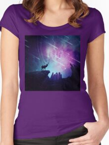 Majestic Women's Fitted Scoop T-Shirt