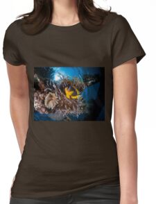 Under water photography of a Red Sea Womens Fitted T-Shirt