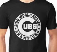CUBS 2016 WORLD SERIES CHAMPIONS VINTAGE WHITE Unisex T-Shirt
