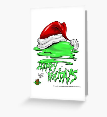 Snot That Ate Port Harry Christmas - 2014 Greeting Card