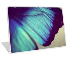 Black and Blue Wing Laptop Skin