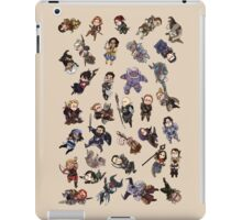 Party Members iPad Case/Skin