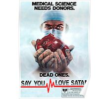 Say You Love Satan 80s Horror Podcast - Medical Murder Poster
