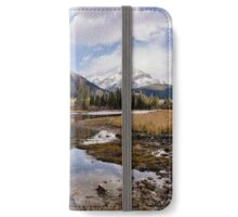A Calm River and a Fresh Dusting of Snow iPhone Wallet/Case/Skin