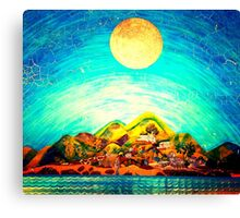 Colorful Natural Painting  Canvas Print