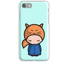 Kawaii girl Sarah iPhone Case/Skin