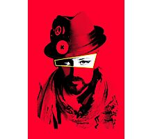 Boy George - Red Photographic Print