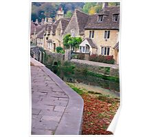 castle combe ,england Poster