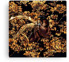 Black & Gold Canvas Print