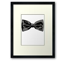 Bow Tie (Straight) Framed Print