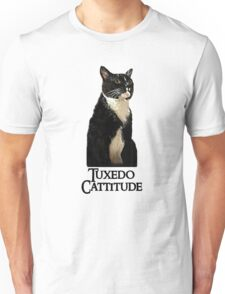 Tuxedo Cattitude Unisex T-Shirt