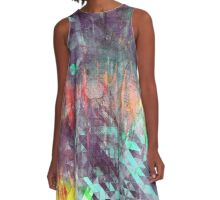abstract geometry 11 A-Line Dress