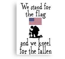 American Patriot shirt Canvas Print