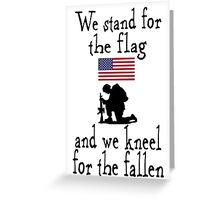 American Patriot shirt Greeting Card