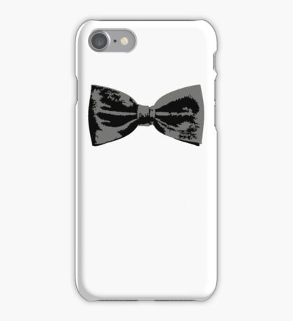 Bow Tie (Straight) iPhone Case/Skin