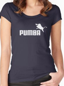 Pumba Logo Women's Fitted Scoop T-Shirt