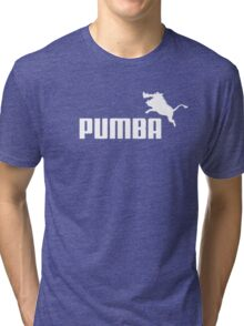 Pumba Logo Tri-blend T-Shirt
