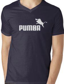 Pumba Logo Mens V-Neck T-Shirt